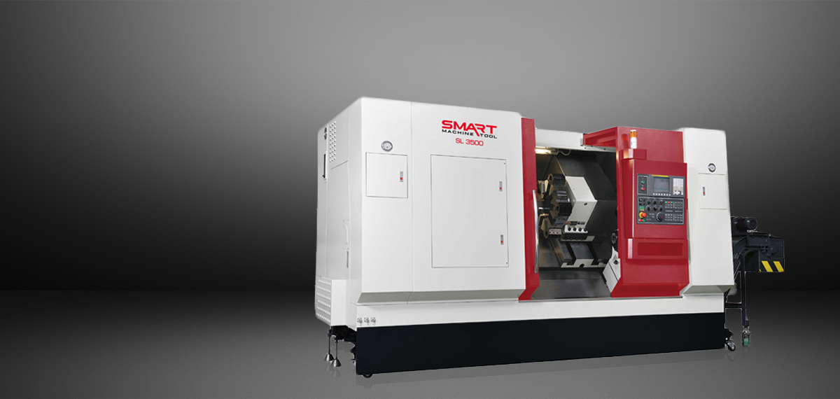 "SMART SL 3500 – BOX WAY – (15"" CHUCK) 2-Axis CNC Lathes"