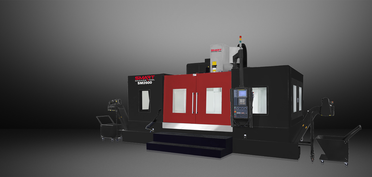 SMART SM 2600 – BOX WAY – (CAT50, 6K) Vertical Machining Centers