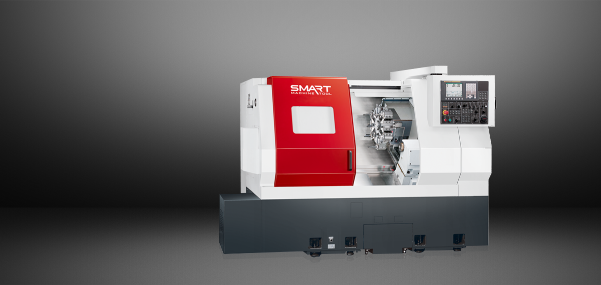 "SMART SL 280M (L) – BOX WAY – (10"" Chuck) 3-Axis CNC Lathes"