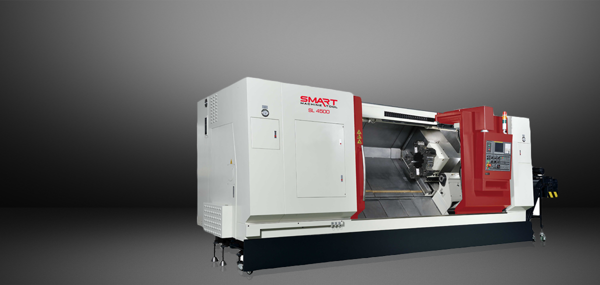 "SMART SL 4500 – BOX WAY – (18"" Chuck) 2-Axis CNC Lathes"