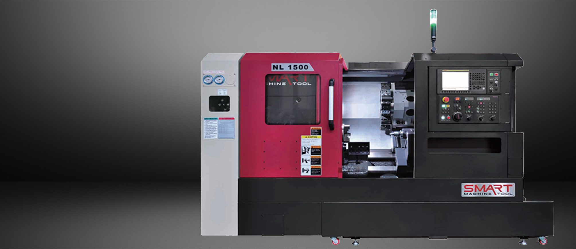SMART NL 1500 – BOX WAY – (6″ CHUCK) 2-Axis CNC Lathes