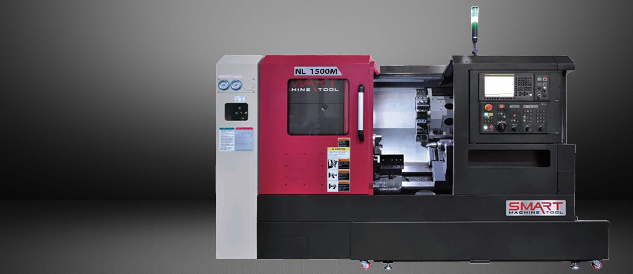 SMART NL 1500M – BOX WAY – (6″ CHUCK) 3-Axis CNC Lathes