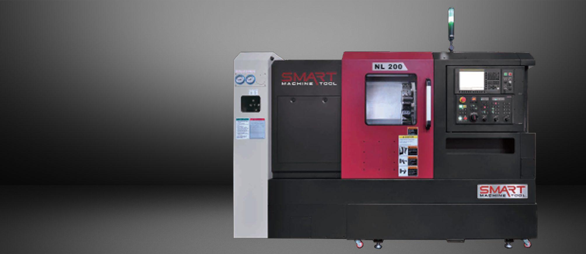 SMART NL 200 – BOX WAY – (8″ CHUCK) 2-Axis CNC Lathes