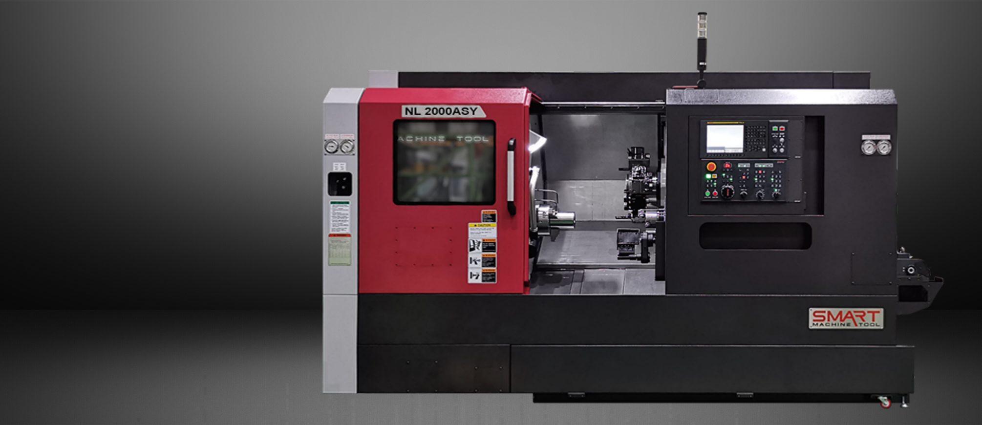 SMART NL 2000ASY – BOX WAY – (6″ CHUCK) Multi-Axis CNC Lathes