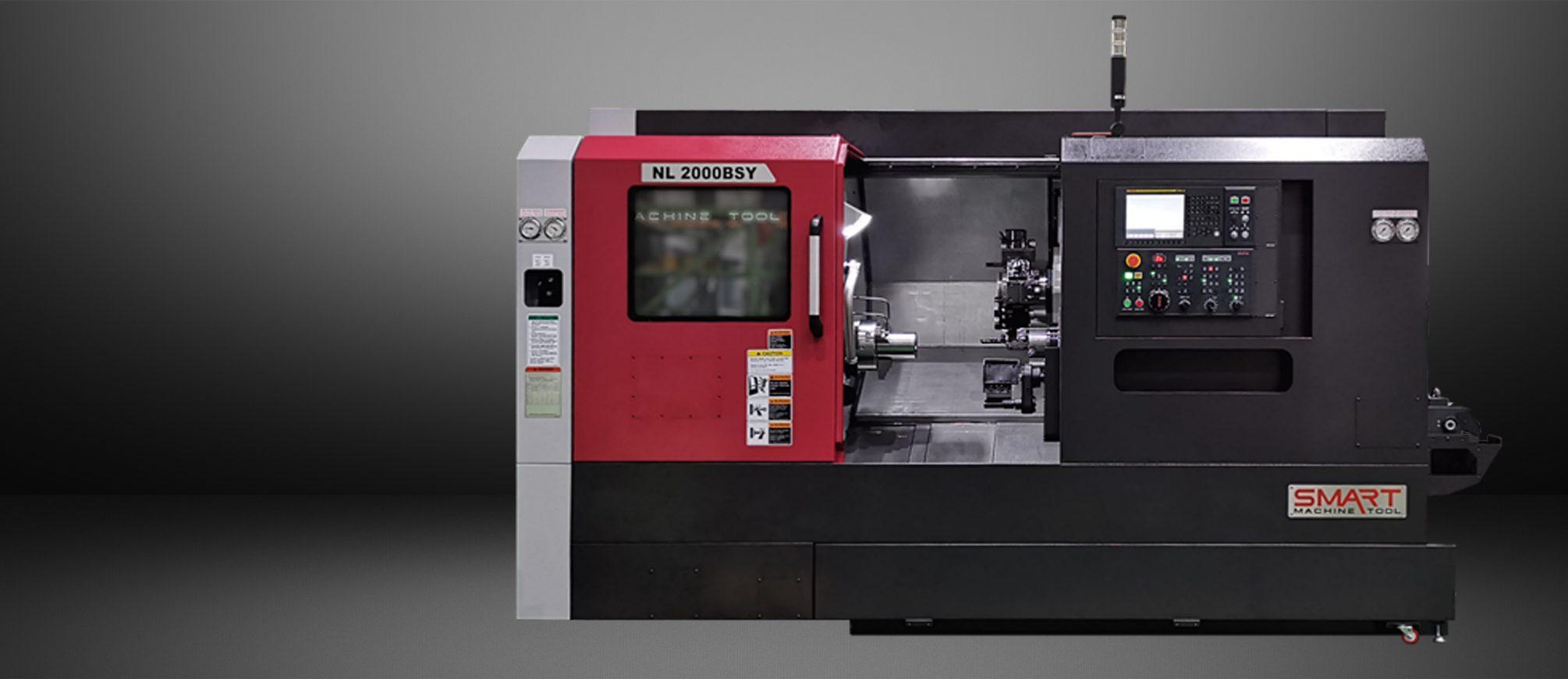 SMART NL 2000BSY – BOX WAY – (8″ CHUCK) Multi-Axis CNC Lathes