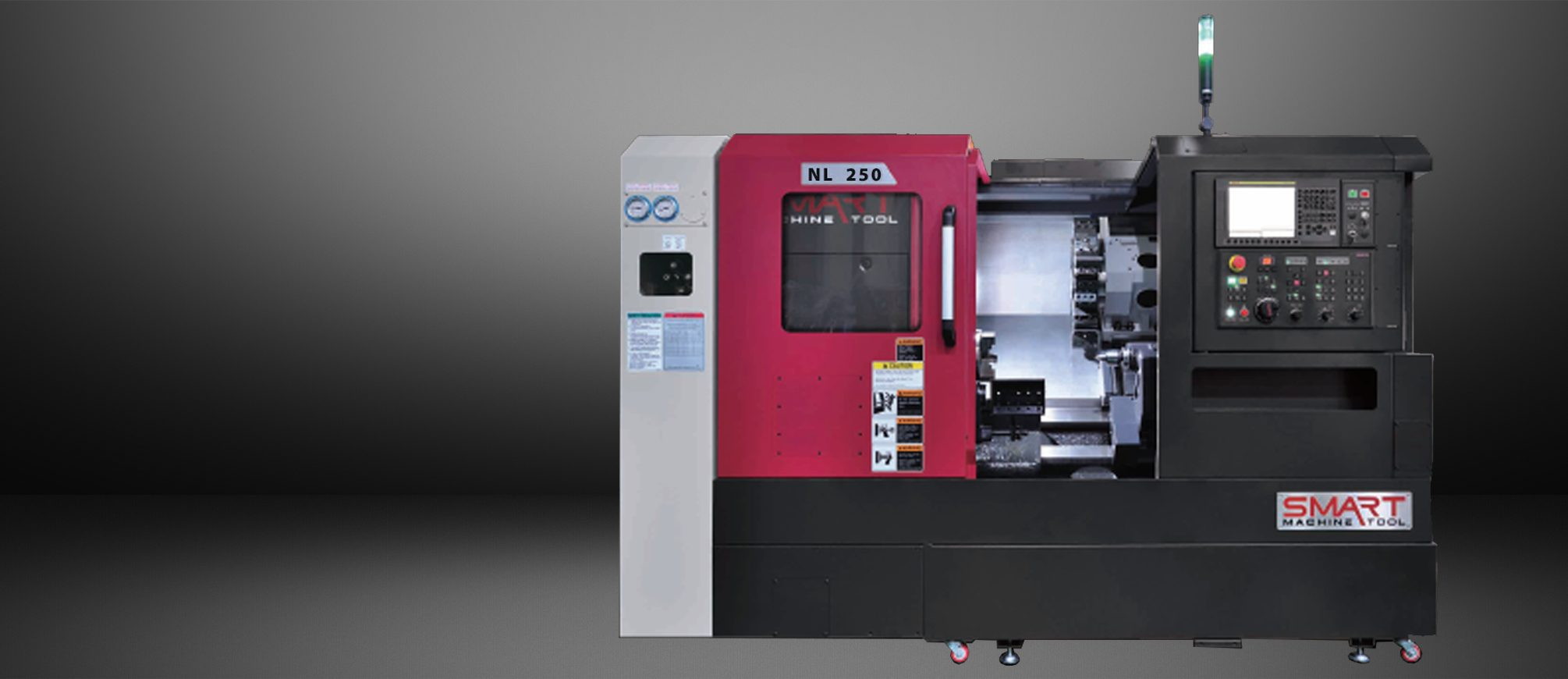 SMART NL 250 – BOX WAY – (10″ CHUCK) 2-Axis CNC Lathes