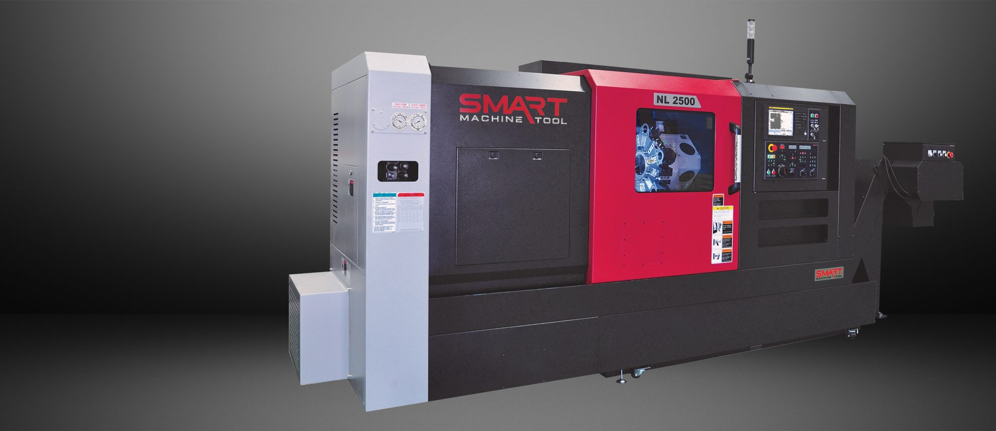 SMART NL 2500/500 – BOX WAY – (10″ CHUCK) 2-Axis CNC Lathes
