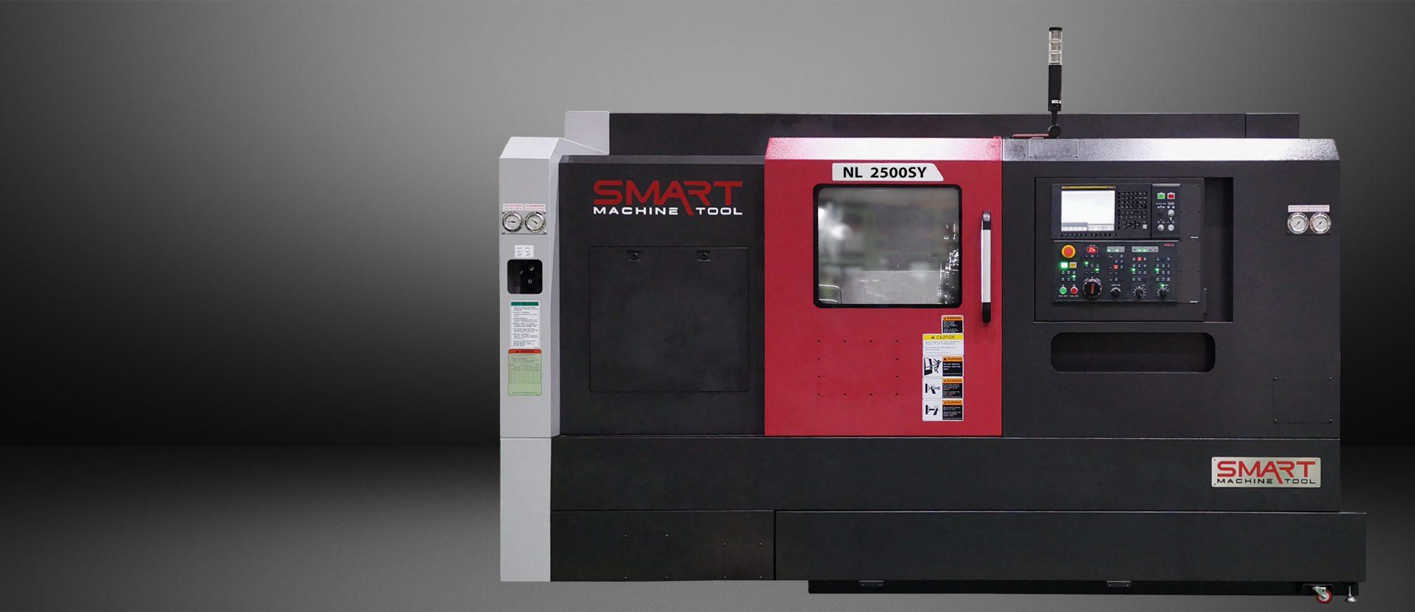 SMART NL 2500SY – BOX WAY – (10″ CHUCK) Multi-Axis CNC Lathes