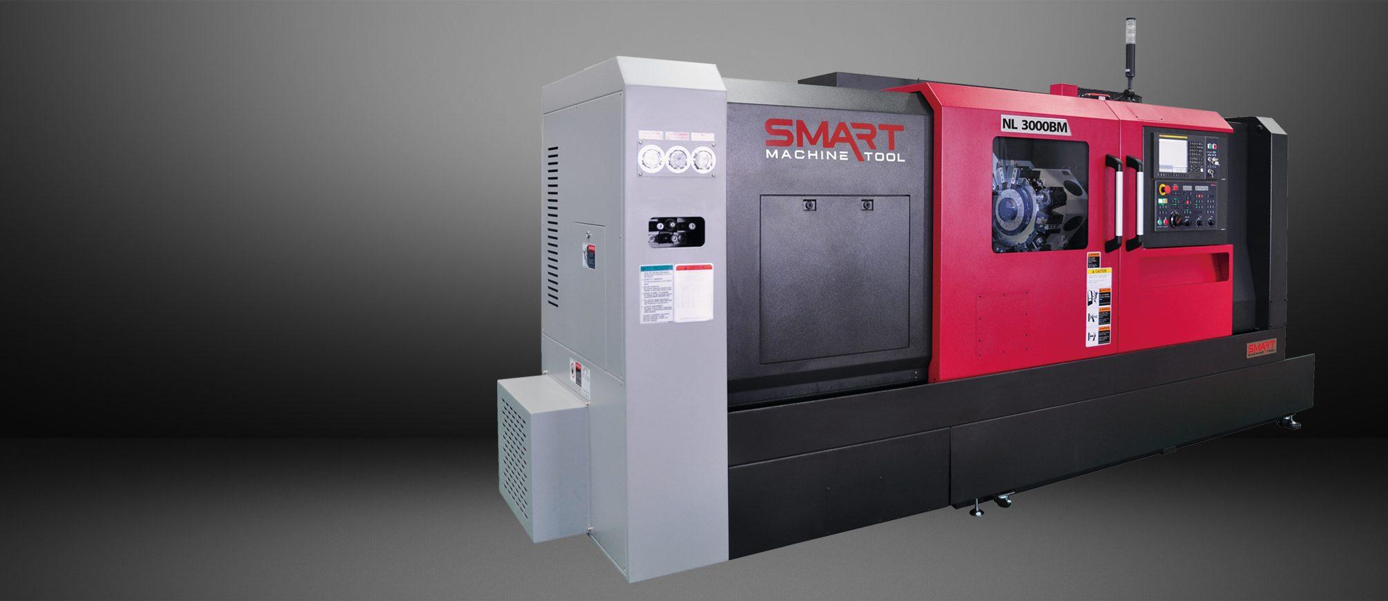 SMART NL 3000BM – BOX WAY – (12″ CHUCK) 3-Axis CNC Lathes