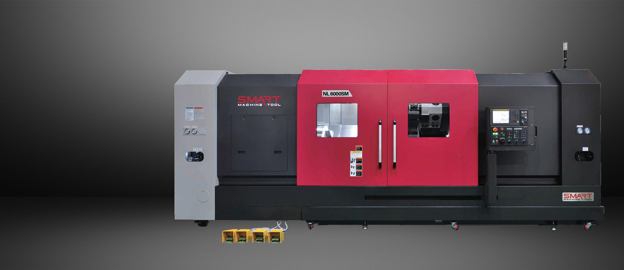 SMART NL 6000SM – BOX WAY – (24″ CHUCK) 3-Axis CNC Lathes