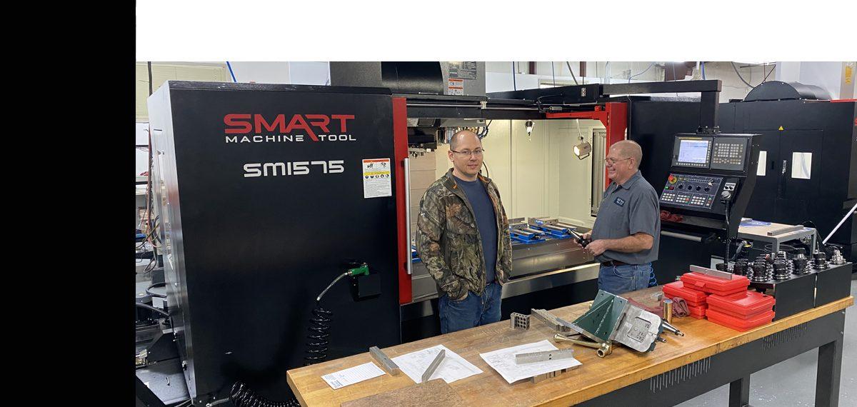 SMART SM 1575 BOX WAY – (CAT40, 12K) Vertical Machining Centers