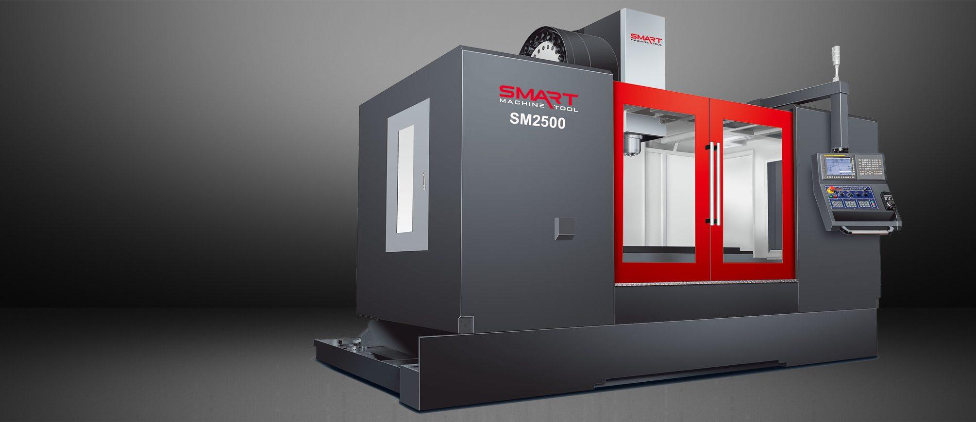 SMART SM 2500 – BOX WAY – (CAT50, 6K) Vertical Machining Centers