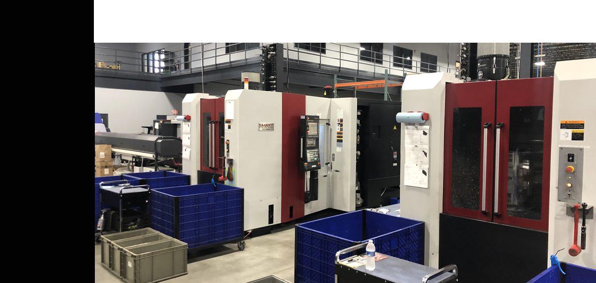 SMART SX 4000 Horizontal Machining Centers