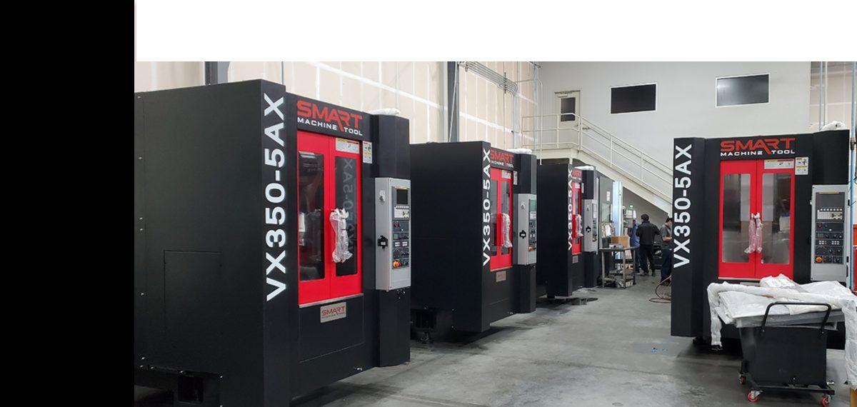 SMART VX 350 – 5 AXIS (CAT40, 12K) Vertical Machining Centers