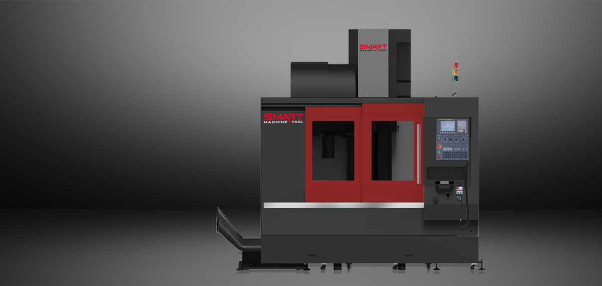 SMART SM 850 – LINEAR WAY – (CAT40, 10K) Vertical Machining Centers