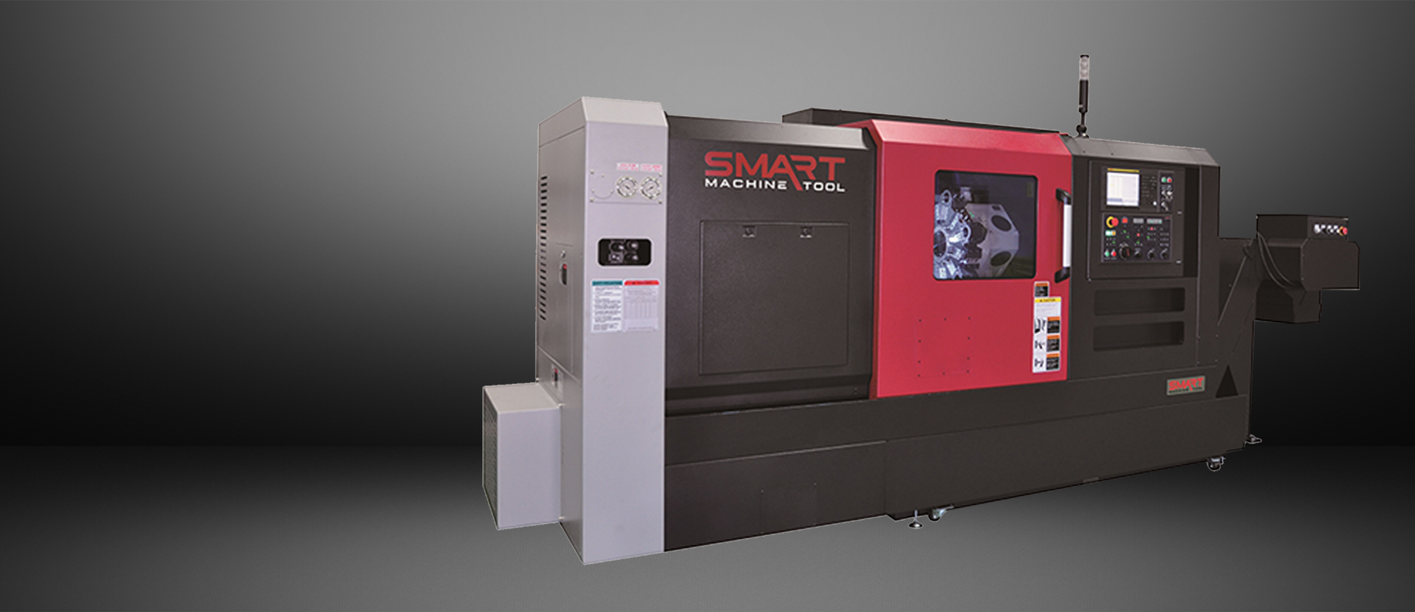 SMART NL 2000B – BOX WAY – (10″ CHUCK) 2-Axis CNC Lathes