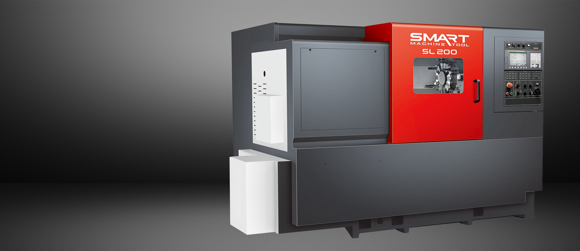 "SMART SL 200 – BOX WAY – (8"" CHUCK) 2-Axis CNC Lathes"