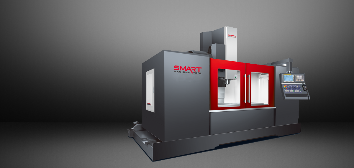 SMART SM 1365 – BOX WAY – (CAT50, 6K) Vertical Machining Centers