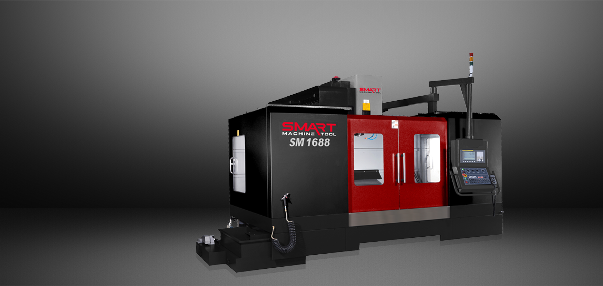 SMART SM 1688 – BOX WAY – (CAT50, 6k) Vertical Machining Centers