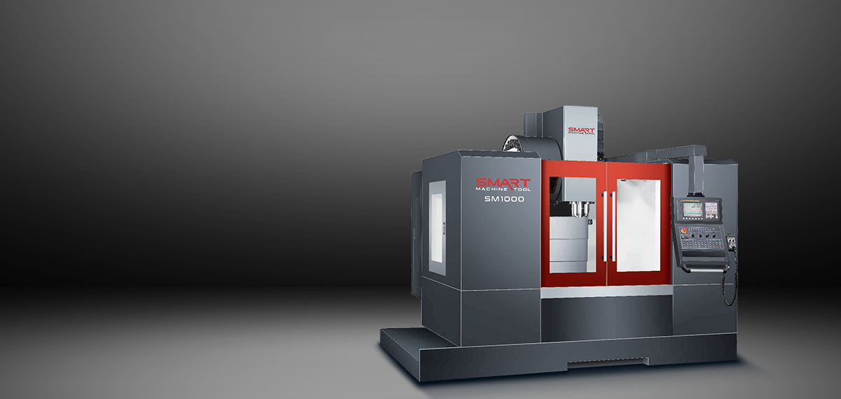 SMART SM 1000 – LINEAR WAY – (CAT40, 12k) Vertical Machining Centers