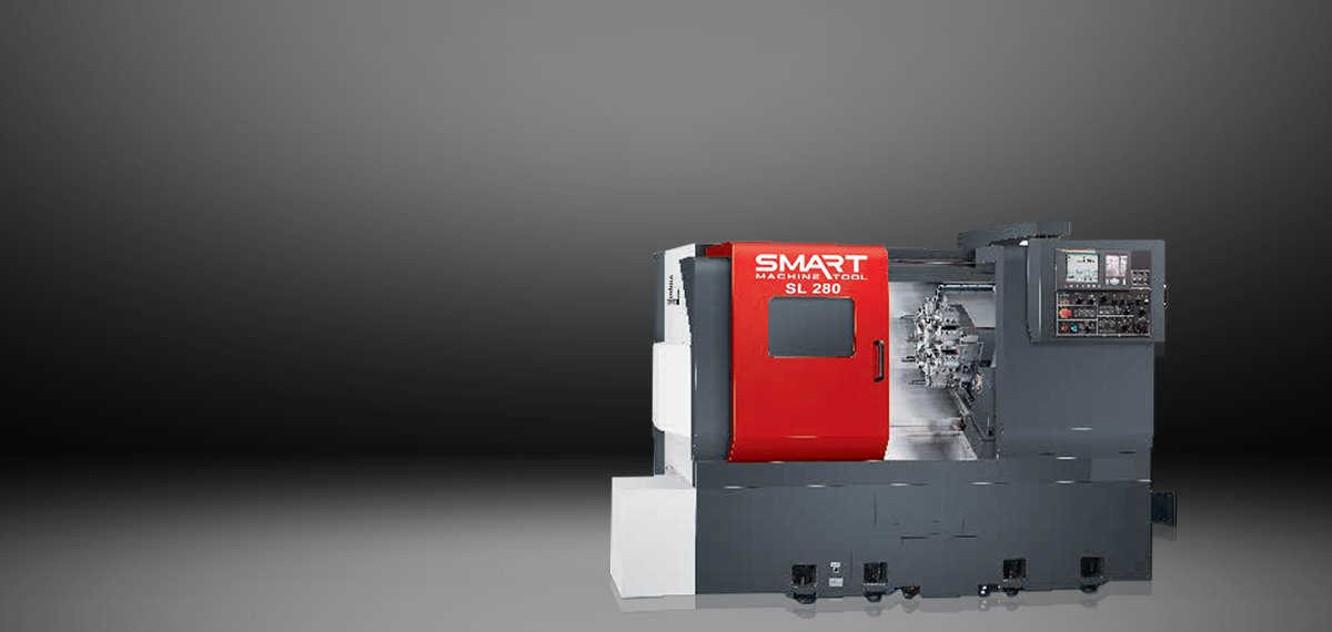 "SMART SL 280 – BOX WAY – (10"" CHUCK) 2-Axis CNC Lathes"