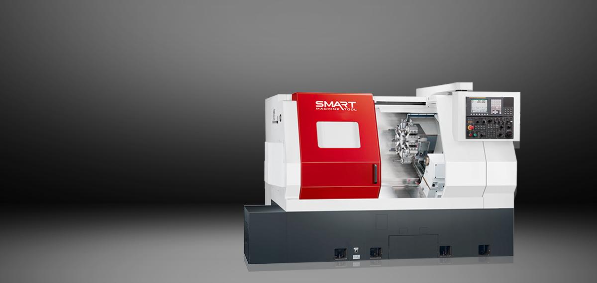 SMART SL 3300LYS – BOX WAY – (12″ Main Chuck, 8″ Sub) Multi-Axis CNC Lathes