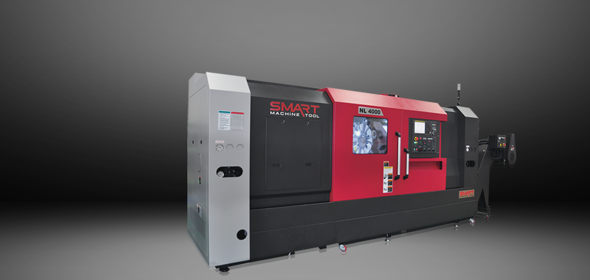SMART NL 4000 – BOX WAY – (18″ CHUCK) 2-Axis CNC Lathes