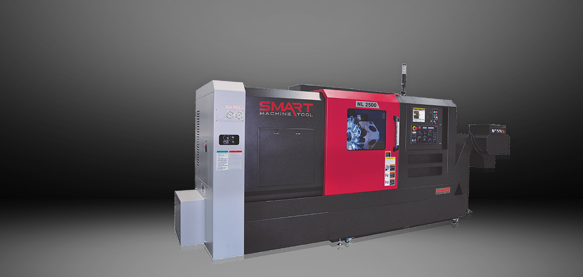 SMART NL 2500M/750 – BOX WAY – (10″ CHUCK) 3-Axis CNC Lathes