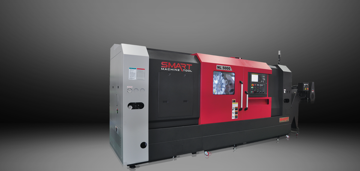 SMART NL 5000 – BOX WAY – (21″ CHUCK) 2-Axis CNC Lathes