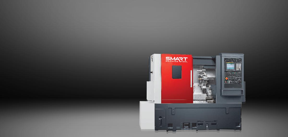 SMART SL 20L – LINEAR – (8″ Chuck) 2-Axis CNC Lathes