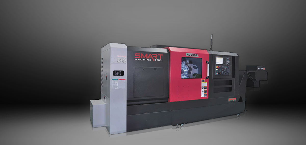 SMART NL 2000M – BOX WAY – (8″ CHUCK) 3-Axis CNC Lathes