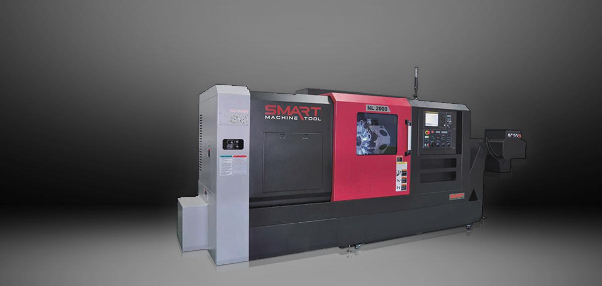 SMART NL 2000M – BOX WAY – (8″ CHUCK) 3-Axis CNC Lathes